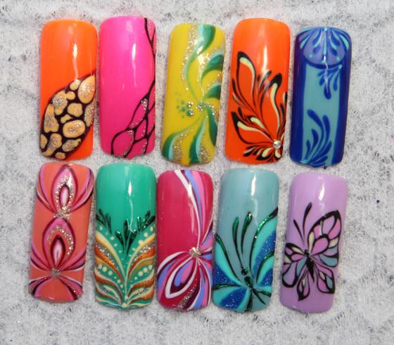 Мастер классы дизайн гелевых ногтей