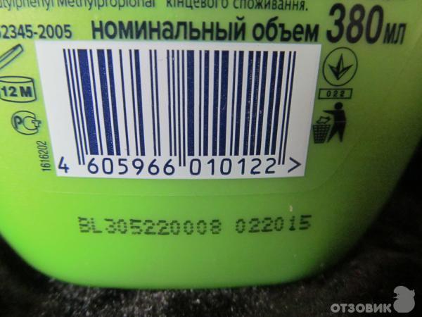 Расшифровка срока годности на продукции Schwarzkopf