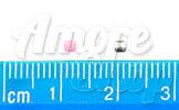 Заклепки для ногтей, квадратики мелкие