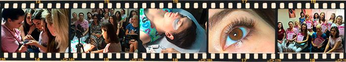 Учебный курс Объемное наращивание ресниц и моделирование формы глаза от Vie de Luxe