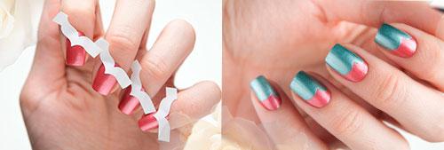 Примеры нэйл-артов с использованием трафаретов для дизайна ногтей