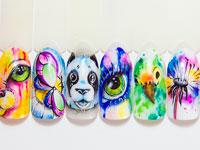 Учебный курс Акварельная роспись гель-лаками и гель-красками