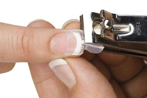 как обрезать держатель френч-смайла