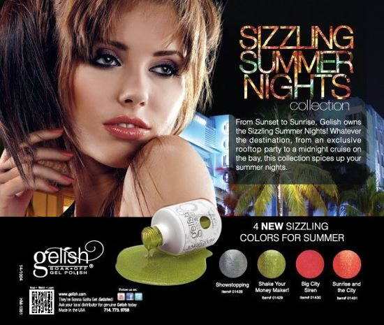 Gelish Sizzling Summer Nights Collection