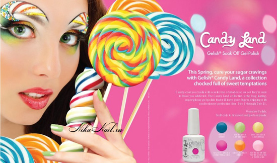 Gelish Candy Land Collection