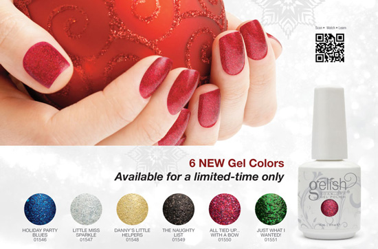 Gelish Holiday Collection