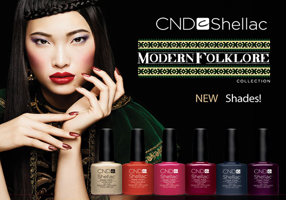 CND Shellac Modern Folklore - коллекция шеллак осень 2014
