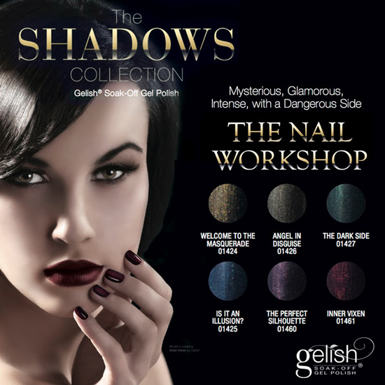 Gelish The Shadows Collection