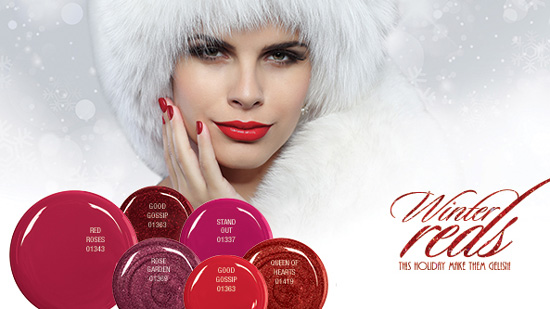 Gelish Winter Reds Collection