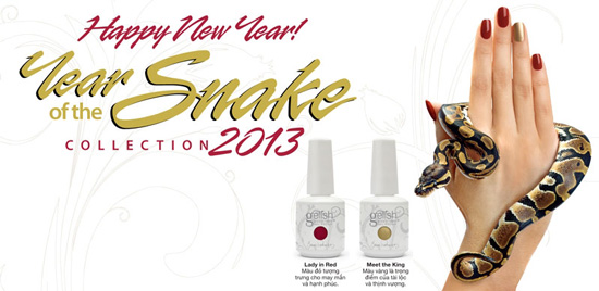 Gelish Year Of The Snake