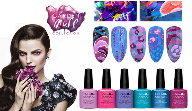 CND Shellac Garden Muse Collection