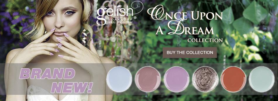 Новая коллекция Gelish Once Upon a Dream Collection весна 2014