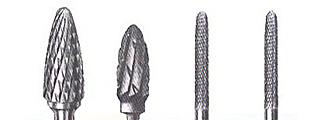 твердосплавные насадки для фрезера (боры, фрезы)