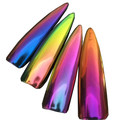 Зеркальная пудра для ногтей (Chrome Mirror Powder Nails)