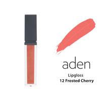 Aden Lipgloss Блеск для губ 12 Frosted Cherry, 5 мл